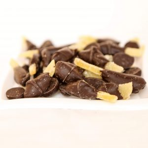 Dark Chocolate Dipped Candied Ginger
